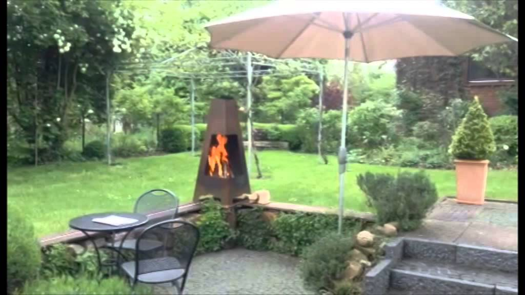 Feuerstelle Jotul Terrazza  YouTube