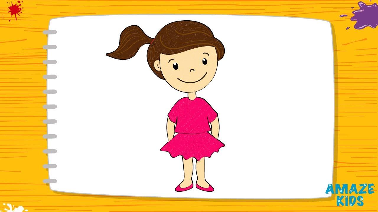 Как нарисовать девочку своими руками фото 110