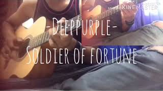 Deep purple - soldier of fortune cover