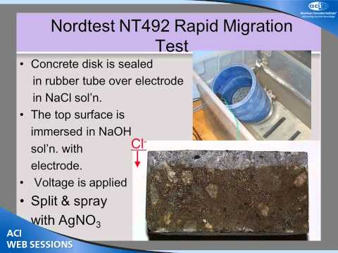 Evaluating Concretes Using Rapid Resistivity Measurements for Fluid Penetration Resistance