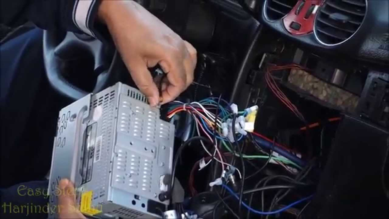 How to install GPS Active Antenna | CLK Class | W209 Mercedes Benz  YouTube