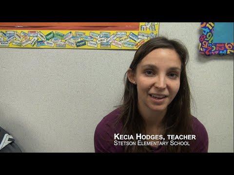 Kecia Hodges, Teacher -  Stetson Elementary School