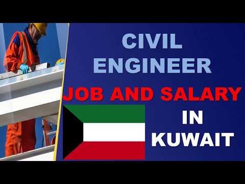 Civil Engineer Salary In Kuwait - Jobs And Salaries In Kuwait