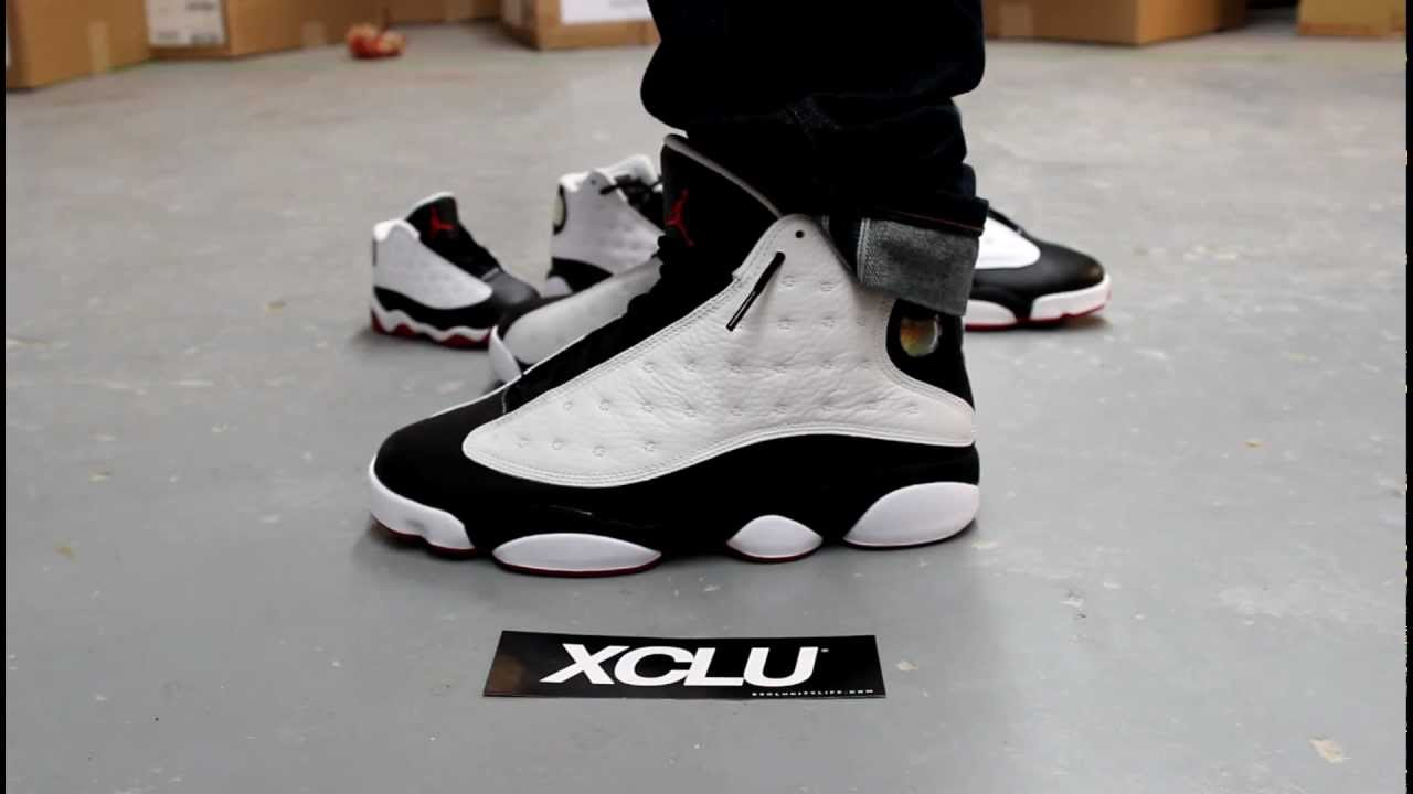 8072a0dd93e330 ... france air jordan 13 he got game on feet video at exclucity youtube  84159 3269b