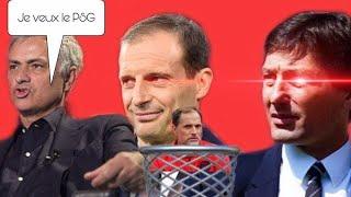 PSG:MOURINHO VEUT LE POSTE !DOHA LE VEUT ! TUCHEL SUR LE DEPART ! (ALLEGRI TOUJOURS FAVORI !)