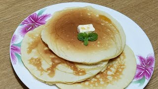 Butter milk Pancake Recipe||How to make fluffy pancake at home for breakfast by kitchen with Fatima