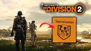 The Division 2 - New Secret Specialization Spotted!  Sub-Classes?  All New Gameplay Teases!