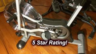 Marcy Air 1 Fan Exercise Bike  -  5 star rating!