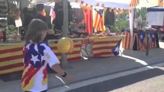 Pilota Catalana per a nens amb l'Estelada