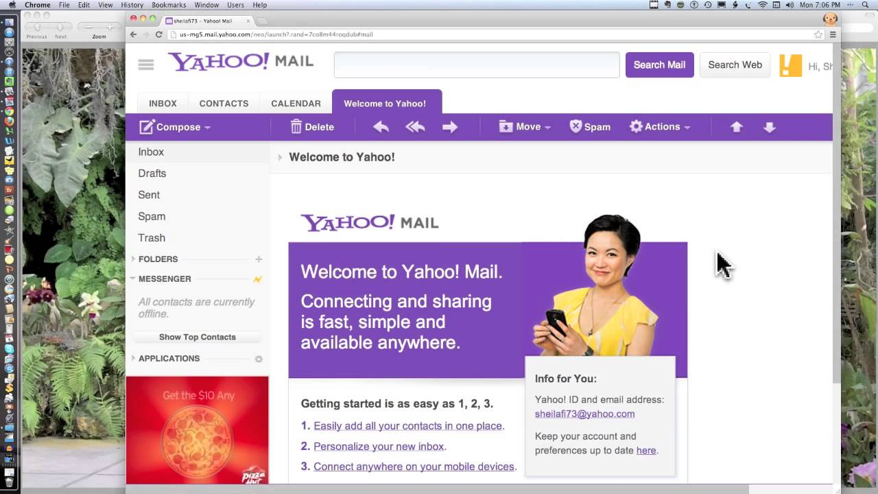 how to stop sending spam emails on yahoo