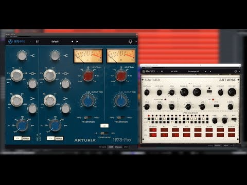 Arturia: 3 Filters & 3 Preamps In Action