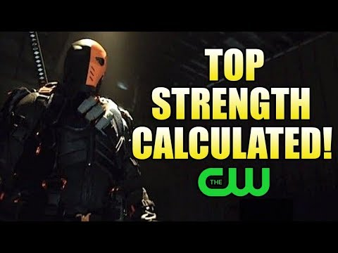 How Strong is the CW Deathstroke?