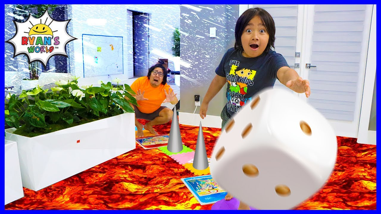 Giant Board Game In Real Life with Winner gets Huge Surprise!!!!