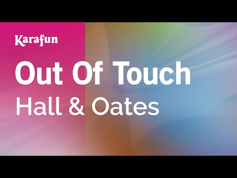 Karaoke Out Of Touch - Hall & Oates *