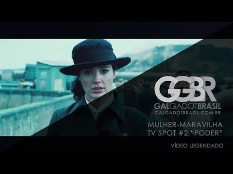 """Mulher-Maravilha: TV Spot #2 """"Poder"""" [HD] (Legendado)"""