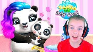 Нянчим Малыша Панды Мультик игра про малыша панду Видео для детей