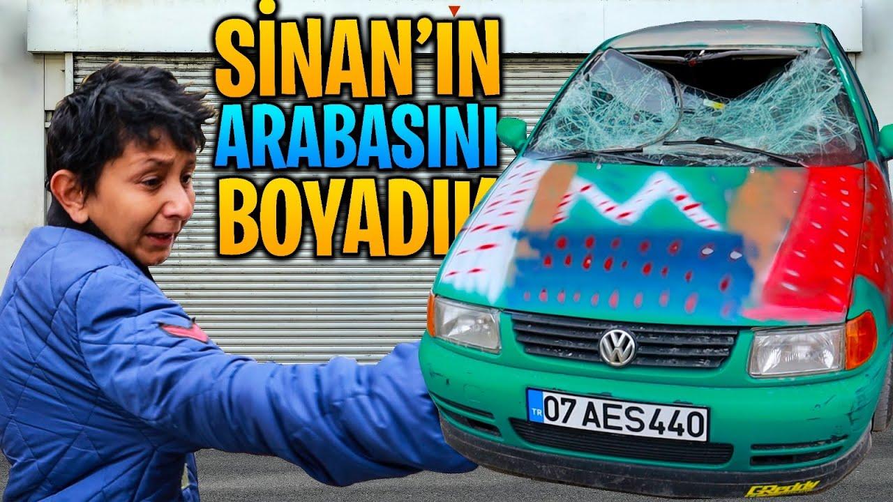Sinan'ın Arabasını Boyadık