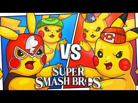 TIME FOR A 2v2 POKEMON BATTLE! - Super Smash Brothers Ultimate!