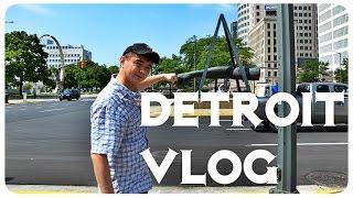 Жизнь в США:  Гуляем по Детройту ВЛОГ | VLOG August 5, 6, 2014