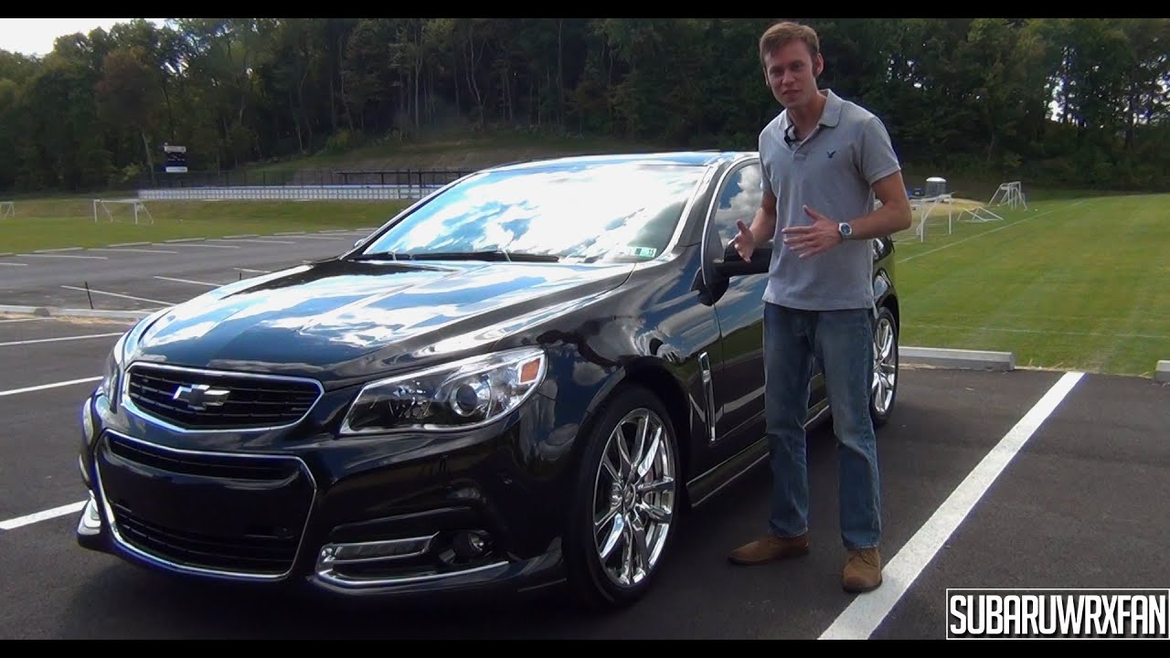 Review: 2014 Chevrolet SS Sedan   YouTube