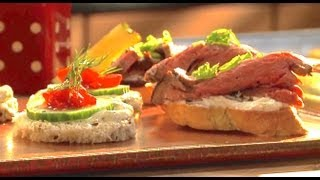 Beef Tenderloin And Cucumber Canapés - Casserole Queens