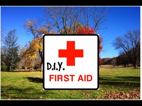 DIY First Aid Kit for Hiking