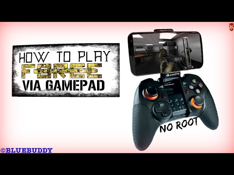 Play Bullet Force Via Bluetooth Controller || No  Root ||