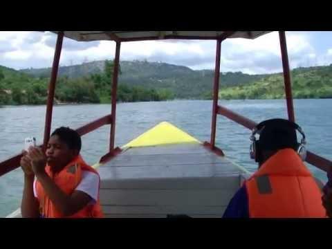 Cruising on Lake Volta Ghana Tour Oct 2014