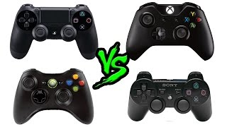 КАКОЙ ГЕЙМПАД ЛУЧШЕ? PS4 VS XBOX ONE VS PS3 VS XBOX 360 + Выбор для ПК