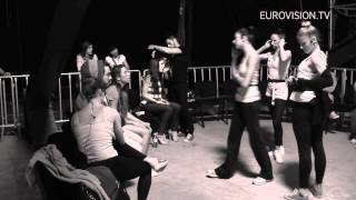 Ivi Adamou - La La Love (Cyprus) 1st Rehearsal