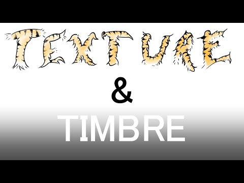 Music Composition Tutorial 08 - Texture and Timbre