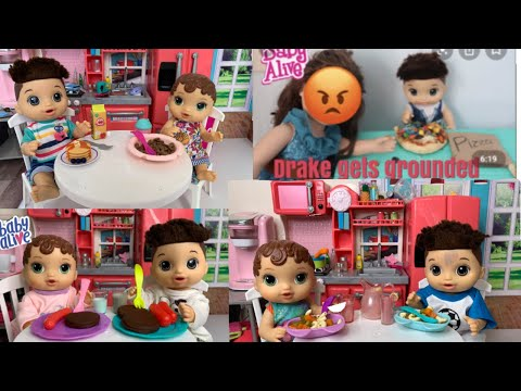 Baby Alive Abby Morning Routine Compilation