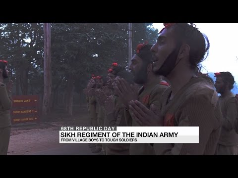 Sikh regiment of the Indian Army: From village boys to tough soldiers