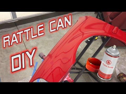 My DIY Rattle Can Paint Job | Honda Civic Project