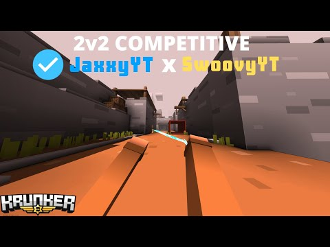 Krunker.io 2v2 COMPETITIVE GAMEPLAY w/ SwoovyYT