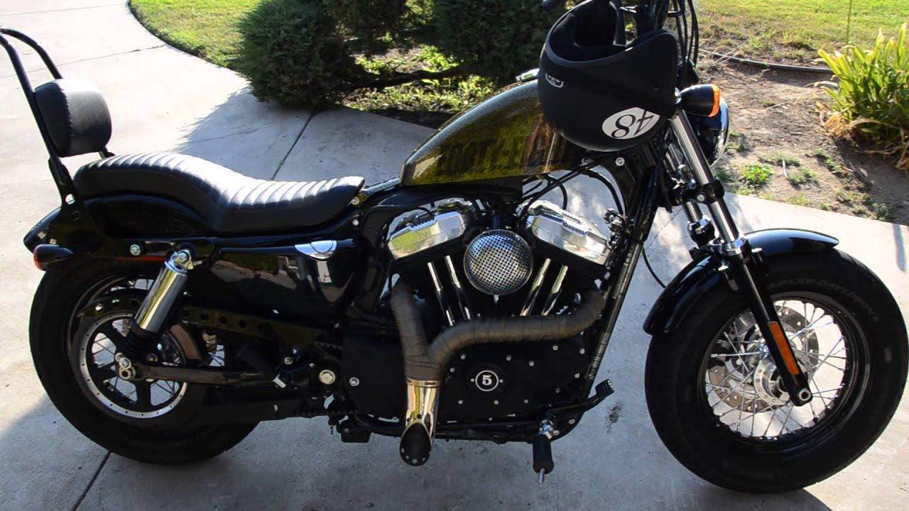 2013 Harley 48 Sportster - YouTube