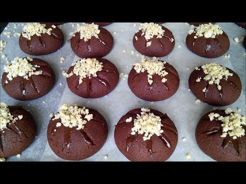 Рецепт шоколадного печенья. Быстрый и простой рецепт!