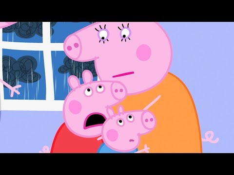 Peppa Pig in Hindi - Thunderstorm - Toofan - हिंदी Kahaniya - Hindi Cartoons for Kids