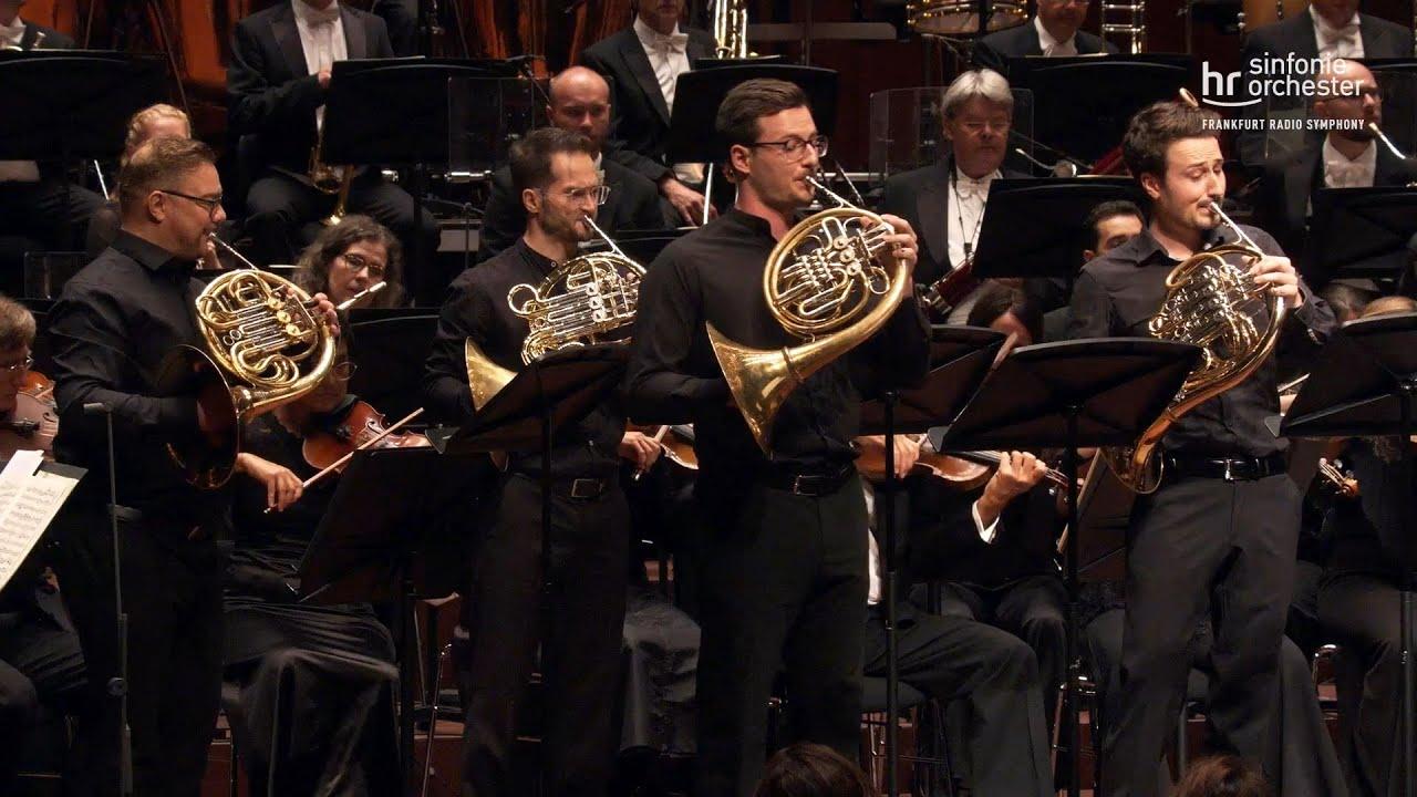 Schumann: Konzertstück für 4 Hörner und Orchester ∙ hr-Sinfonieorchester ∙ Alain Altinoglu