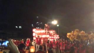 2014年に行われた原田神社秋祭りの岡町の御神輿です.