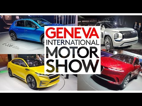 Targi w Genewie 2019 (wszystkie marki w jednym filmie)