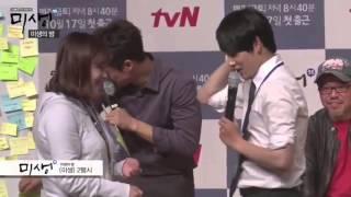 2014/1006 tvN8周年イベント「未生ミセンの夜」での腕まくりが上手くい...