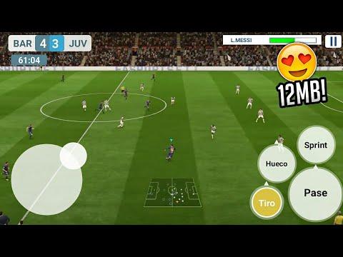 Este Juego De Futbol Solo Pesa 12mb Android Descarga Apk Real