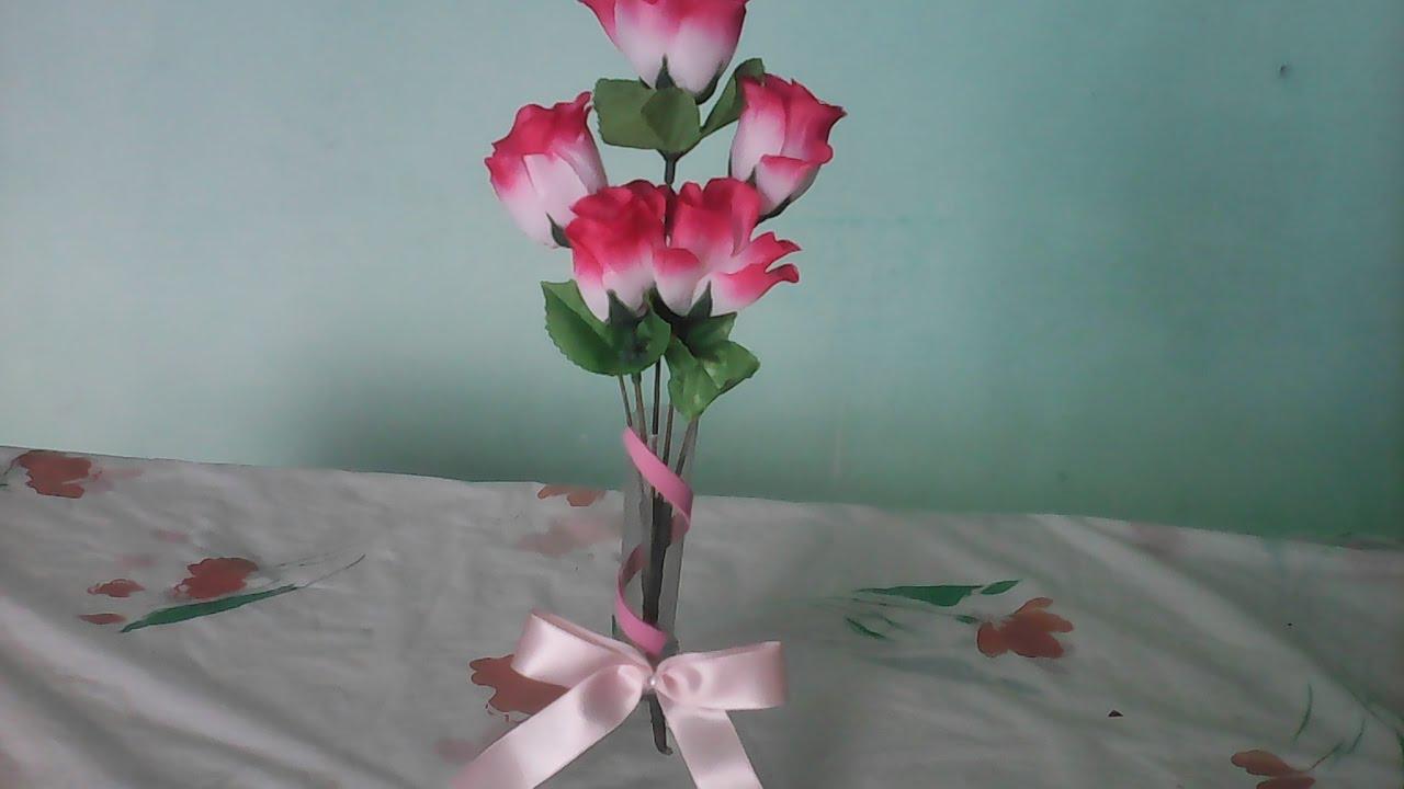 Vaso de garrafa pet  Use como lembrancinha decorao
