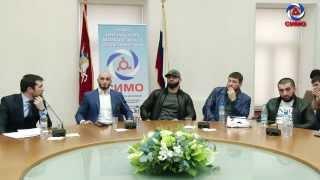 Встреча с Абукаром и Адамом Яндиевыми