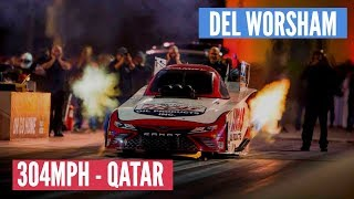 DEL WORSHAM - FASTEST PASS EVER IN HISTORY OF QATAR!