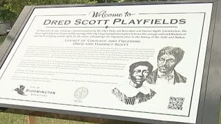 Dred and Harriet Scott Remembered in Bloomington