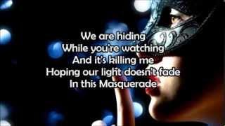 Masquerade - Jonathan Thulin - Lyrics