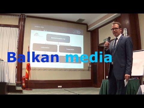 SEEMF 2014: Presentation the Balkan media Platform