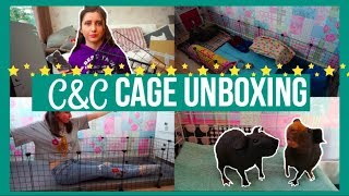 Unboxing C&C Cage For Skinny Pigs